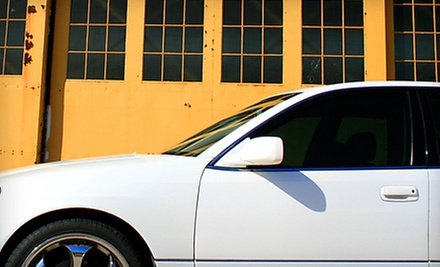 $49 for Window Tinting for 2 Windows at Custom Films