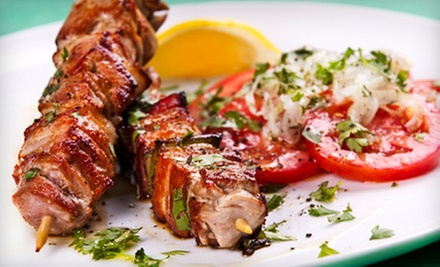 $12 for $20 Worth of Mediterranean Food and Drink at Alibaba Retro