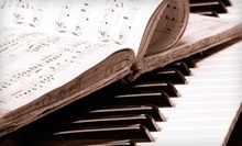 $15 for a 60 Minute Private Piano, Singing, or Guitar lesson at California Music Academy