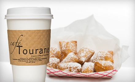 $3 for Six Beignets and a 16oz Drink at Cafe Tourane