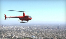 $273 for a Hollywood Sign Tour for 3 Passangers at Adventure Helicopter Tours