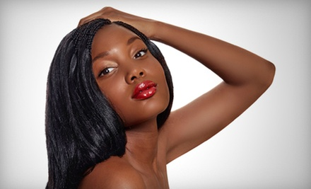 $25 for a Shampoo &amp; Blowout at Amaka&#x27;s International Hair and Body Spa