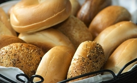 $3 for $5 Worth of Food at Bruegger's Bagels Raleigh (Wakefield Commons)