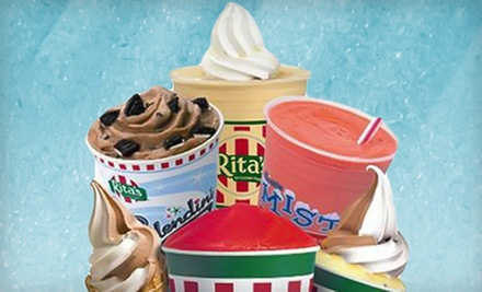 $3 for $5 at Rita's Italian Ice and Frozen Custard-Roswell