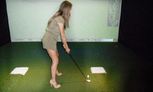 $21 for 1 Hour of Virtual Golf and 2 Draft Beers or Fountain Sodas at CaddyShanks