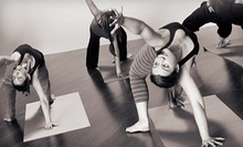 $7 for a 90-Minute All-Level Vinyasa Yoga Class at 4 p.m. at Laughing Frog Yoga