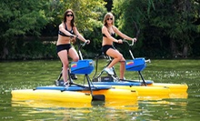 $13 for a One-Hour Water Bike Rental at Austin Water Bikes