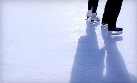 $7 for Two Open Skate Admissions  at Sherwood Ice Arena