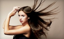 $100 for Color &amp; Toner with a Cut and Blowdry Style with Dave Faunce at Awilda Salon
