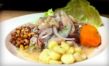 $10 for $20 at Lola's Peruvian Restaurant