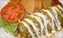 $6 for $10 at Burrito Express