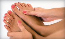 $35 for a Spa Manicure and Pedicure  at Gentiana Salon Spa Boutique
