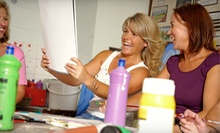 $22 for a Mixed Media Workshop Class  at Priscilla &amp; Tiffanys Art Corp.