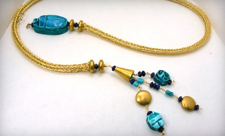 $15 for a Jewelry-Making Class at 10:30 a.m. at Beads on the Ave