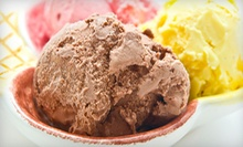 $5 for $10 at 4Delights Ice Cream