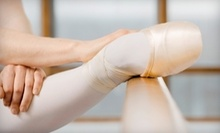 $7 for Introductory Ballet Class at 12:30 PM at Rast Ballet & Dance Studio