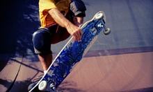 $5 for One All Day Skate Session at Aura Skateboarding Training Facility