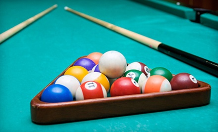 $10 for $20 at Drexeline Billiards Club