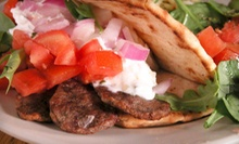$4 for $8 at Gyros Grill