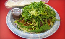 $7 for $10 at Bufalo Bob's Chalupa Wagon