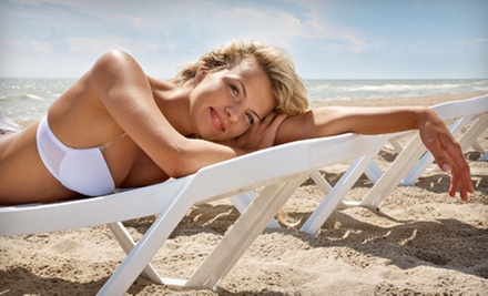$22 for a Single Airbrush Session at Sunna Tanning