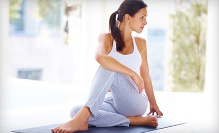 $7 for a 75-MInute Vinyasa Flow Yoga Class at 11:30 a.m. at Clear Gardens Yoga Studio