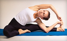 $8 for a Drop In Yoga Class at 9 a.m. at Become Yoga