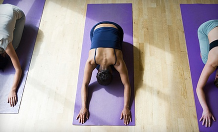 $10 for a Vinyasa Yoga Class at 7:40 p.m. at Namaste Yoga Center New York
