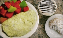 $15 for 2 Omelets, 2 Fresh Season Fruit Sides &amp; 2 Espresso Drinks at Cafe Elysa
