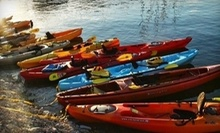 $15 for Single Person 24 hour Kayak Rental at Austin Canoe &amp; Kayak
