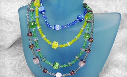 $19 for a 10:30 a.m. Beginners Jewelry Making Class &amp; Necklace Kit  at Bead Bar Orlando