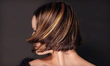 $75 for a Cut, and All-Over Color or Highlights at Charmed Salon