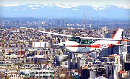$129 for 30-Minute Scenic Flight Tour for up to 3 Passengers at Seattle Scenic Flights