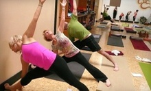 $8 for a 4:30 p.m. Level 2 Flow Yoga Class at Yoga Village