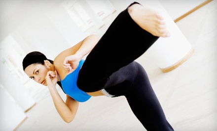 $10 for a 45-Minute Kickboxing Class at 10 a.m. at Perfect Balance Fitness & Martial Arts Training