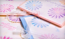 $35 for Worth of Stationery and Invitations at Just Paper &amp; Tea