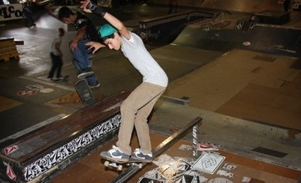 $26 for a 1-hour Semi-Private Skateboarding Lesson and Free Skate at 3rd Lair SkatePark &amp; SkateShop