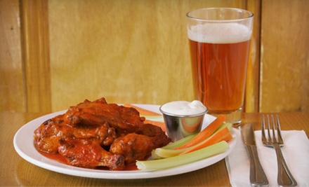 $10 for One Dozen Wings and a Pitcher of Beer for Two  at Jonny Hammers