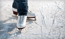 $12 for Ice-Skating for 2 w/ Rentals plus Hot Cocoa 12 p.m - 5 p.m at Iceland Ice Skating Center