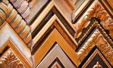 "$70 for Framing in 20""x30"" Gold Metal Picture Frame at Magnolia House Custom Framing"