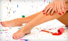 $25 for a Shellac Manicure at Nail Studio