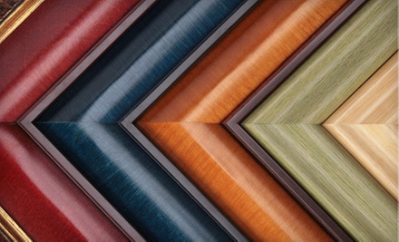 $25 for $50 Worth of Custom Framing at Tuxedo Frame Gallery