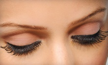 $45 for Mink Eyelash Extensions and Eyebrows Sugaring at Dolly Lashes