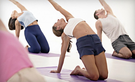 $6 for a Drop-in One-Hour Basic Yoga Class 10:45 a.m. at Mind &amp; Body Fitness at The Studio