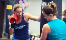 $8 for a 6 a.m. Knockout Women's Boxing Class at Knockout Women's Boxing Club