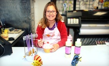$25 for a Ceramic Workshop at Joe's Glass Shack