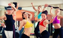 $4 for a Zumba Class at 6:30 p.m.  at A Whole Lotta Class