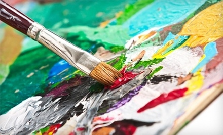 $18 for an Adult Canvas Painting Class at Paint for Fun