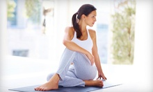 $65 for Private Yoga Instruction with Hot Tub and Sauna at Shibui Gardens Outdoor Spa