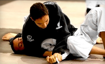 $5 for a 5 p.m. Brazilian Jui Jitsu Class at Brazilian Jiu Jitsu Unlimited